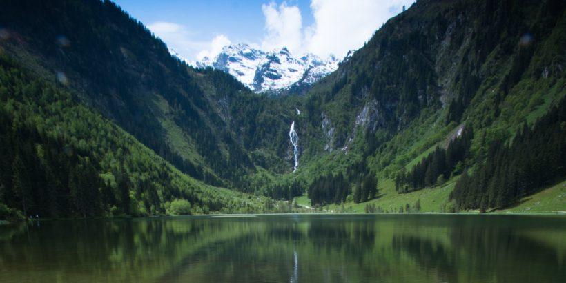 Wasserfall Steirischer Bodensee