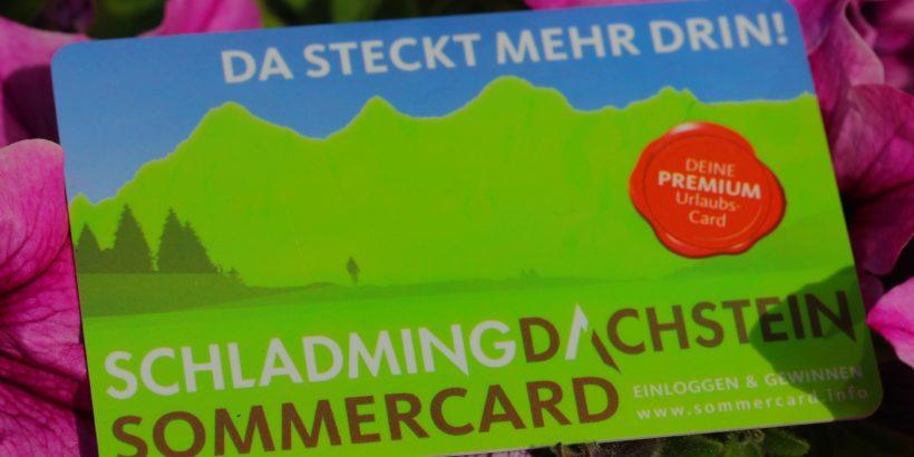 Schladming Dachstein Sommercard all Inklusive