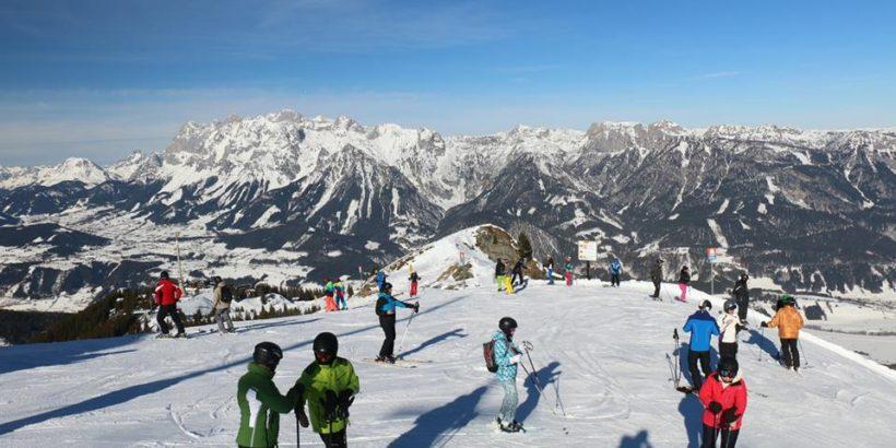 Hauser Kaibling Gipfel Winter
