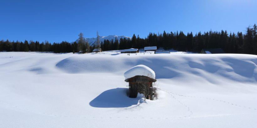 Schneeschuhwandern Viehbergalm Gröbming