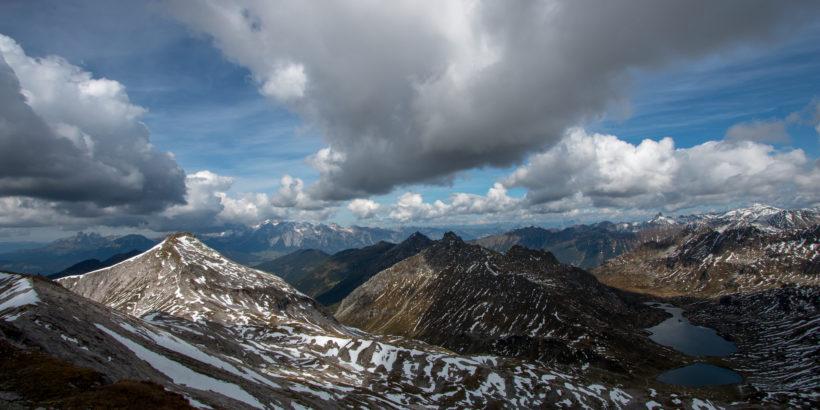Blick von der Lungauer Kalkspitze