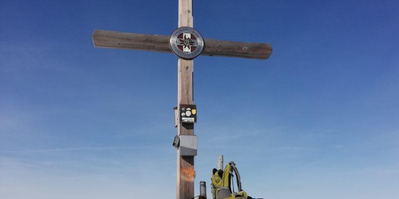 Gipfelkreuz auf dem Plenkkopf in Kleinarl
